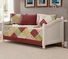 Fancy Collection 5pc DayBed Quilted Bedspread Coverlet Set Patchwork Floral...