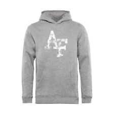 Air Force Falcons Youth Ash Classic Primary Logo Pullover Hoodie