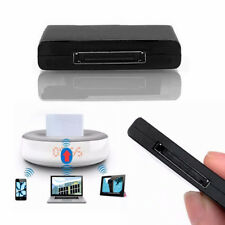 A2DP Bluetooth Music Receiver Adapter for iPhone 30 Pin Dock Station Speaker _LM