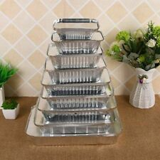 Aluminum Foil Tin Trays BBQ Disposable Roasting Takeaway Oven Baking Party