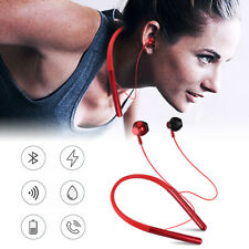 Bluetooth 5.0 Stereo Earphones Wireless Magnet Earbuds Sport Headphones Headset