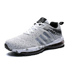 men's athletic sneakers jogging training running shoes Breathable Mesh Big size
