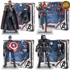 The Avengers 4 Captain America Movable with Bracket Box PVC Action Figure Toys