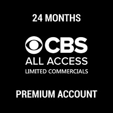 CBS ALL ACCESS PREMIUM SUBSCRIPTION / LIMITED ADS / 24 MONTHS / INSTANT DELIVERY