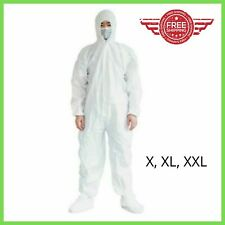 NEW Virus Protection Clothing Anti Virus Disposable Coverall Safety Hazmat Suit