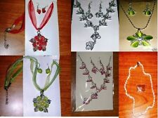 Beautiful Fashion Necklace & earring sets -Pick 1 -New