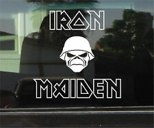 IRON MAIDEN 8 INCH VINYL DECAL / STICKER