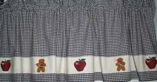 HP Prim Apples 'n Gingers Valance-Gingerbread Curtains