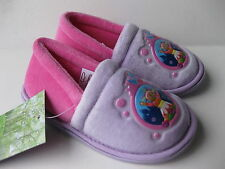INFANTS GIRLS SIZE 4- 10 PINK LILAC UPSY DAISY SLIPPERS