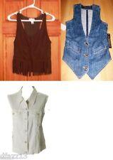 Misses Vests -NWT -Pick your favorite 1!