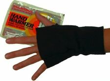 HAND WARMER GLOVES FINGERLESS MITTS WITH HANDWARMERS