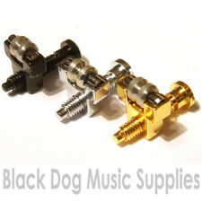 6 Roller Tune-O-matic bridge saddles chrome black gold