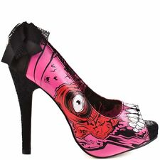 IRON FIST GOLD DIGGER ZOMBIE STOMPER SHOES SIZE 3-8 UK