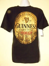 Guinness Beer Adult T shirt Black NEW NWT