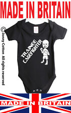 TRAINEE CAGEFIGHTER UFC MMA FUNNY BABY GROW VEST JBG290