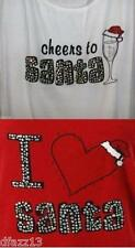 Plus size Cheers or Love Santa sleep or tank top- NWT