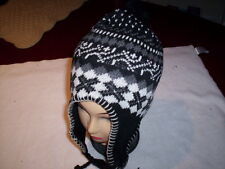 Head cover with ear protection and chin tie Pick your color Winter Cold weather