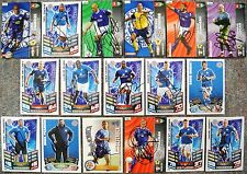 Signed LEICESTER CITY Cards Shoot Out Panini Campbell Fryatt Hume Logan Scimeca