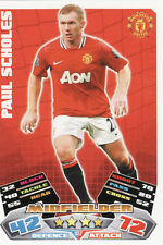 Match Attax Extra 11/12 Man City Man United Cards Pick Your Own From List