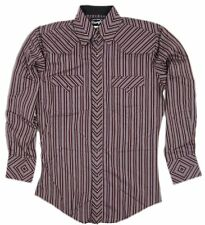 Mens Wrangler Western Silver Edition Long Sleeve Shirt 75973RD Size M L XL