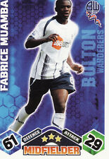 Match Attax 09/10 Bolton Cards Pick Your Own From List