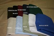 Dorm XL TWIN Fitted sheet only - 200 thread Count 50/50 Poly/Cotton Percale