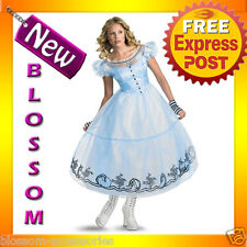 C278 Alice in Wonderland Movie Deluxe Adult Costume