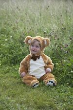Baby Teddy Bear fancy dress up BNWT 3-18months boys girls toddler deluxe costume