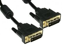 DVI-I Cable Male Dual Link DVI I 29 PIN 28+1 Digital & Analogue 2m 3m 5m Lengths