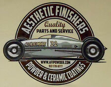Aesthetic Finishers Bonneville Belly Tanker Quality Parts Racing T-Shirt