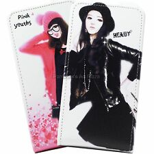 LG Optimus Black P970 Cell Phone PU Leather Case Cover (Girlish)