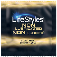 Lifestyles Ultra Sensitive Non-Lubricated Condoms + FREE Lube - Choose Quantity