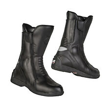 Akito Intra Leather Touring Waterproof Motorbike Motorcycle All Weather Boots
