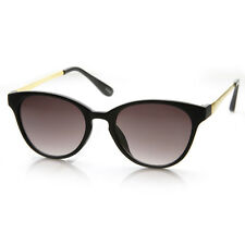 New Womens Fashion Small Oval Key Hole Bridge Cateye Sunglasses 8691