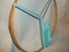 Mens G String Thong Tear Drop front / Back Choice Custom Color/Size