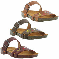New Art 0975 I Breathe Womens Leather Sandals Ladies Shoes Size UK 4-8