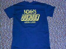 Vintage Noah's Arcade T-Shirt! Retro Video Games. From Wayne's World 022E
