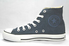 WOMEN'S Converse Chuck Taylor ALL STAR Vintage Distressed Blue Hi 2 pair laces