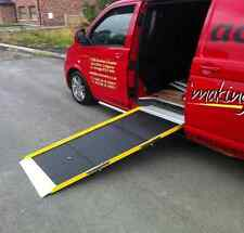 1900mm Aluminium Triple Length Fold Wheelchair Ramp, Portable Taxi/Vehicle Ramp