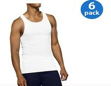 5 PACK MENS FRUIT OF THE LOOM WHITE V-NECK T-SHIRTS LOT S M L XL 2XL 3XL