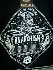 SONS OF ANARCHY ANARCHISM T-SHIRT NEW !