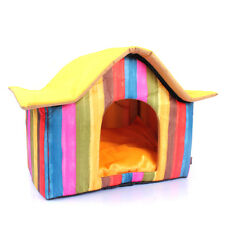 NEW Color Rainbow Soft Cory Luxury Small-Medium Dog Cat House Pet Bed