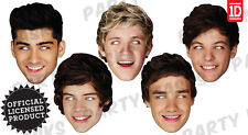 OFFICIAL ONE DIRECTION 1D CELEBRITY FACE PARTY MASK HARRY STYLES NEW MASKS FUN
