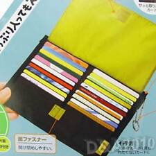 Muti-Function Weaving Fabric IC ID Business Credit Card Holder Bag Purse Wallet