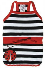 NEW Ruff Ruff Couture Lucky Ladybug Red White Black Dog Dress - Several sizes