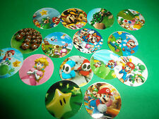 Pre Cut VIDEO GAME One Inch Bottle Cap Images! FREE SHIPPING