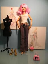 Pantalons Pantacourt Barbie Doll Outfit Trousers Short Pantalon Jeans  Au choix