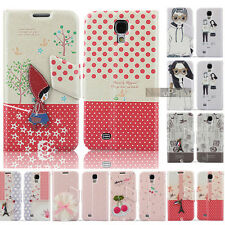 3D Cute PU Magnetic Flip Leather Case Cover Stand for Samsung Galaxy S4 I9500