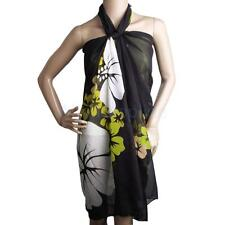Fashion Sexy Chiffon Beach Scarf Wrap Cover Up Pareo Sarong Dress