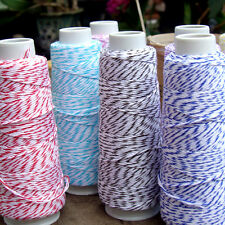 Bakers Twine Ribbon 100% Cotton 4-ply, 100 Yard Spool Roll
